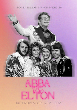 Bottomless Abba vs Elton Brunch