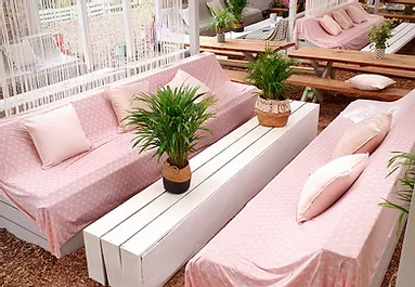 Pergola Sofas  (4 to 6 people)