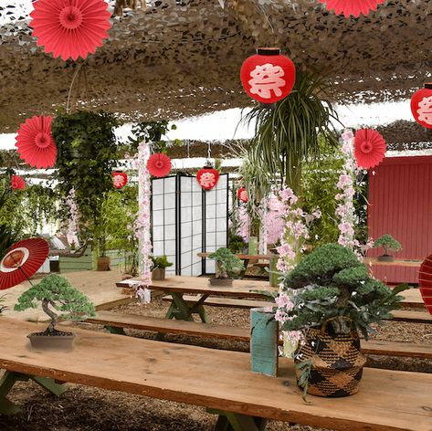 Little Kyoto Tables