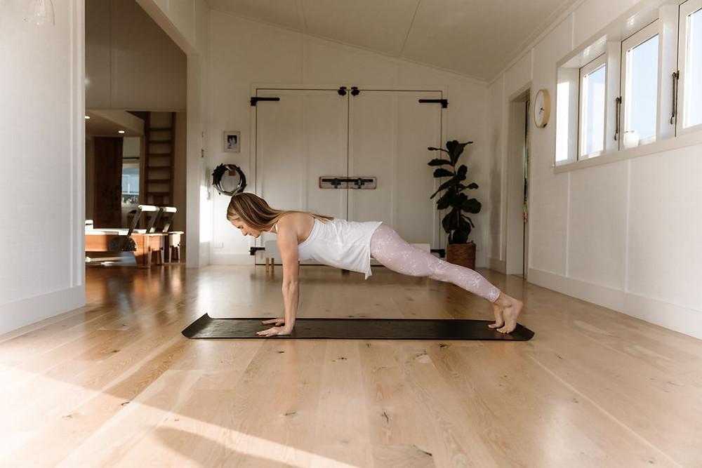 Spring Studio Plank