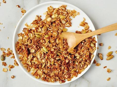 Your New Go-to  (healthy) Granola Recipe