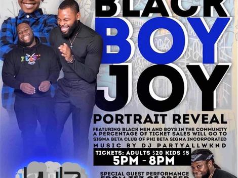 Black men bringing black joy through portraits