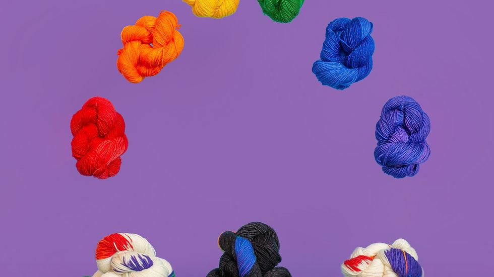 Camp Color Rainbow Yarn Collection