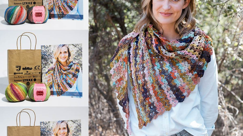 Perris Crochet Shawl Kit