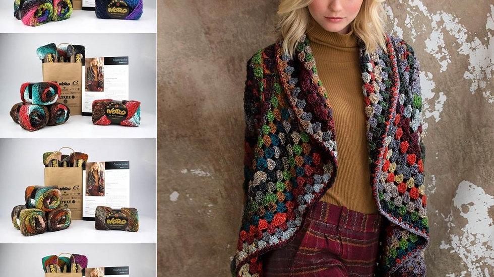 Noro Crochet Jacket