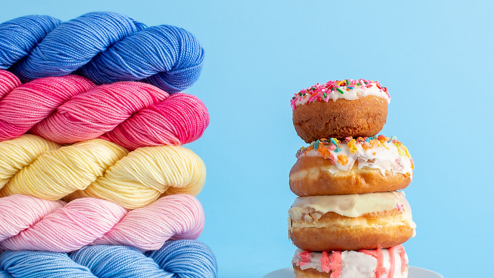 Camp Color Sweet Tooth Yarn Collection