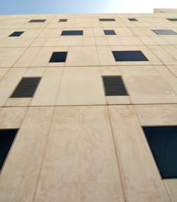 Prefab concrete facade