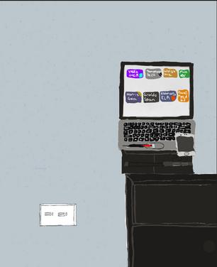 Still Life (Computer Drawing)