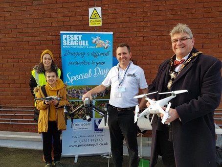 Exciting future plans - The secret is now out.. Drone delivery hub to be built in Tamworth