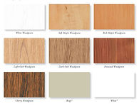 replacement window wood grain finnishes
