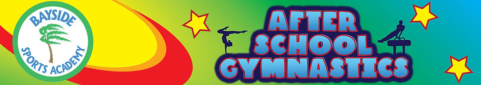Bayside After School Gymnastics Header