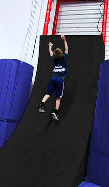 Boy on Ninja Warped Wall
