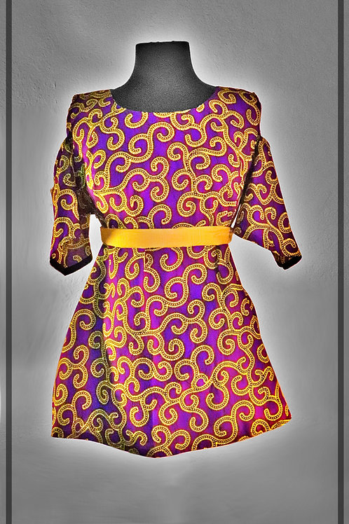 Purple & Yellow Top