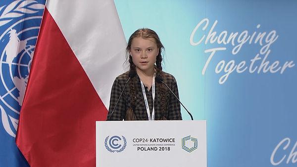 Greta Thunberg à la COP 24