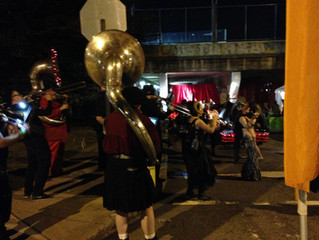 Krog Street Tunnel Comes Alive with Black Sheep Ensemble