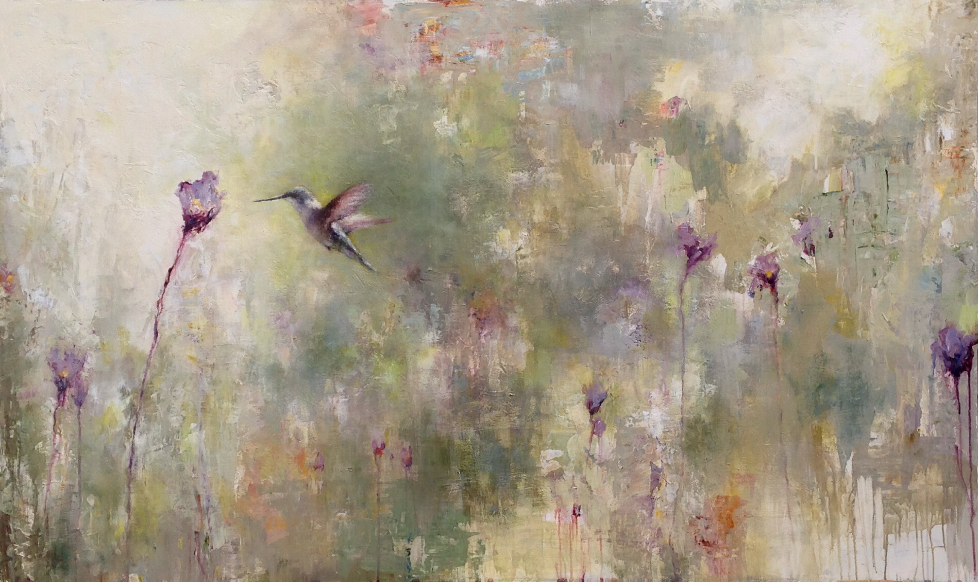 "Wing to Petal, 36"" x 60"""