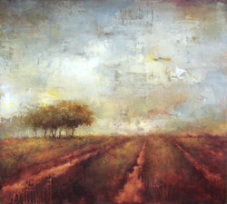 """Cultivation, 36"""" x 40"""""""