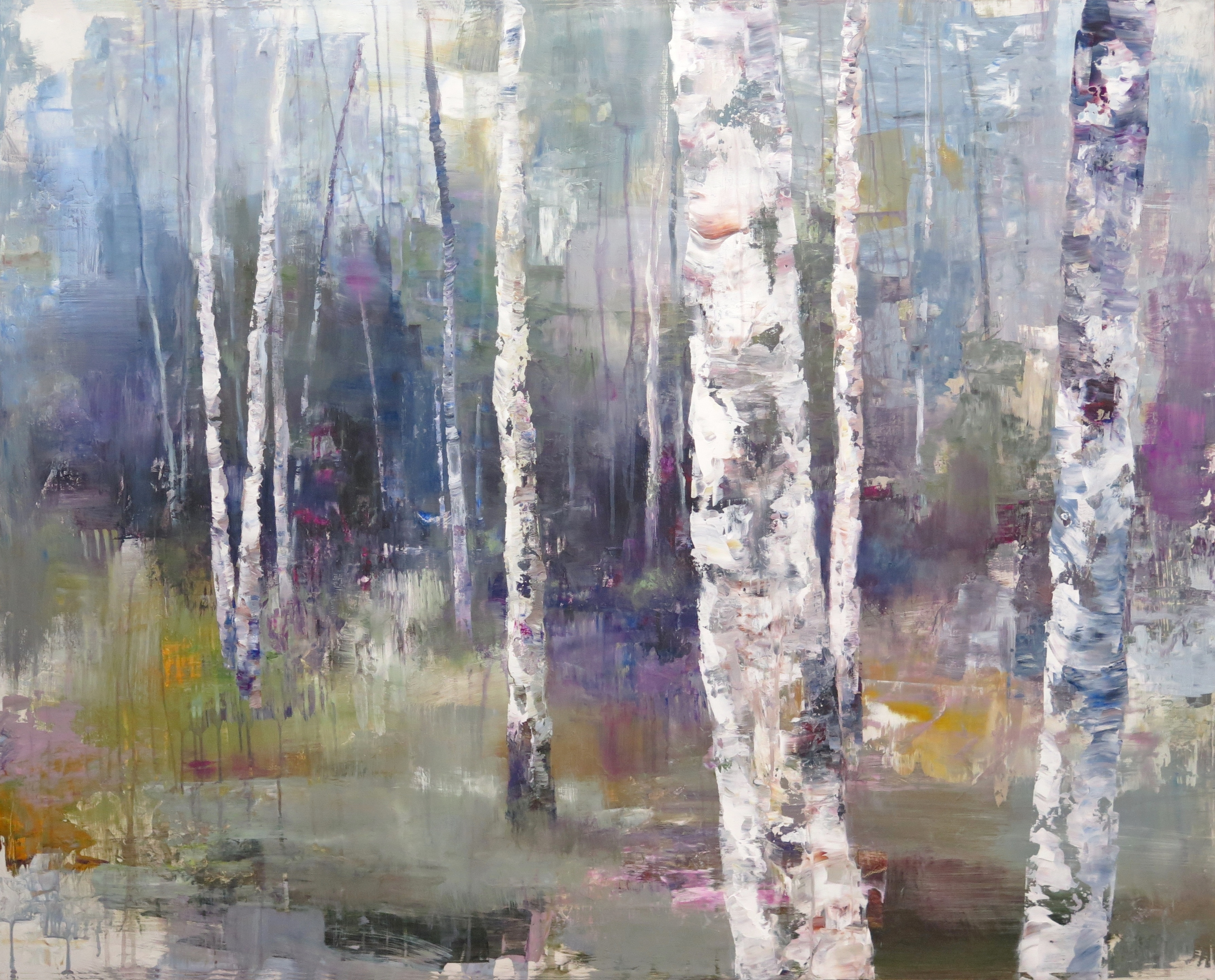 "Lyrical Light, 40"" x 50"""