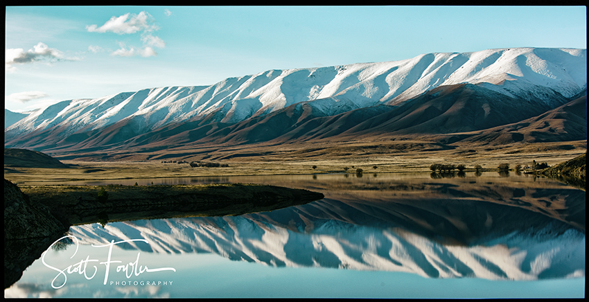 Hawkdun range reflection