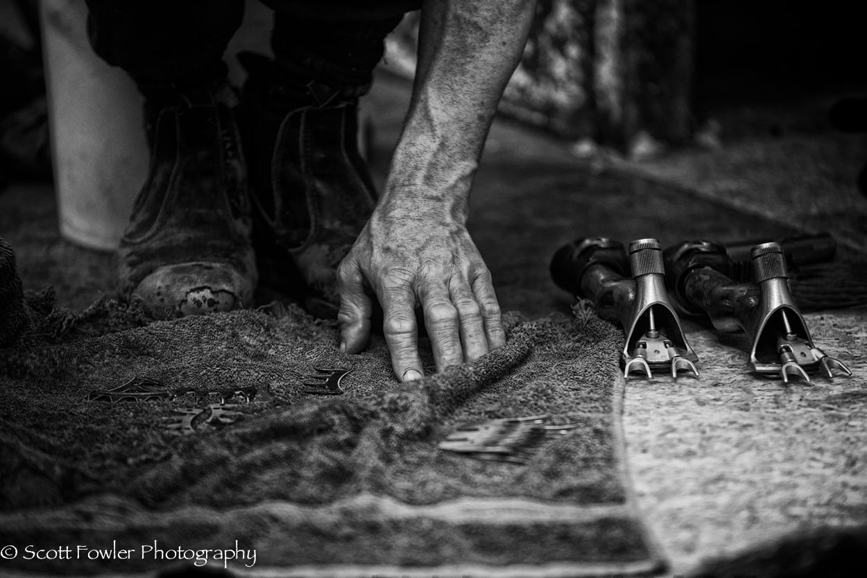 Shearing handsNIK