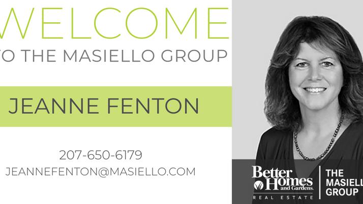 Welcome Jeanne Fenton