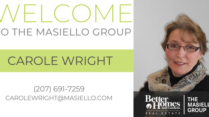 Welcome Carole Wright