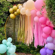 11th birthday party luxury balloon instalation