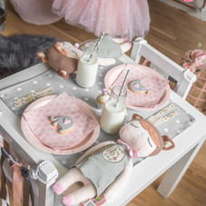 Girl's tea table and party bag/gift