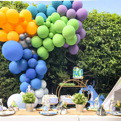 Dragon party luxury balloon installation