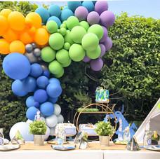 Dragon party luxury balloon installation