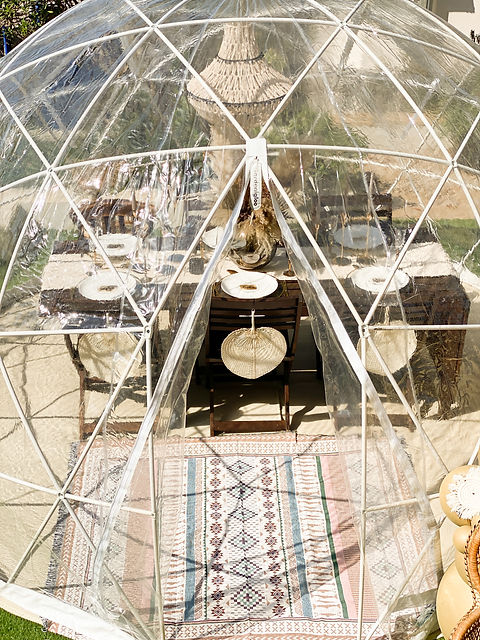 Dome dining hire