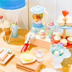 Kids sweet table