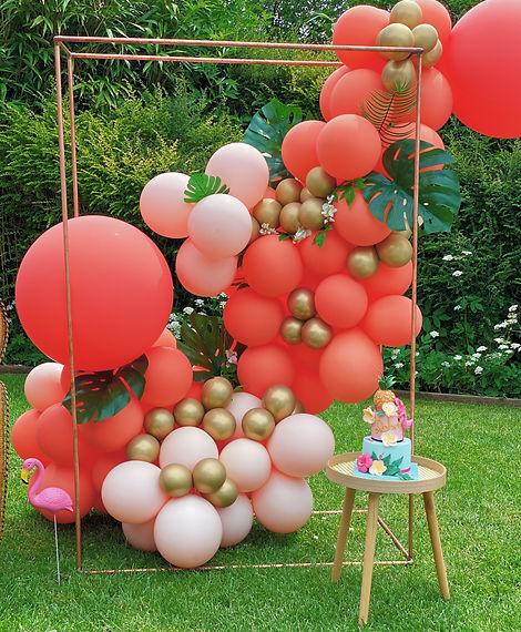 ballon installation