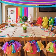 An art rainbow party