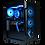 Thumbnail: Mid Range Black/Blue Gaming PC (Ryzen 5 2600+RTX 2060)