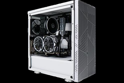 Budget White Gaming PC (Intel Core i3 10100F +GTX 1060 3GB)