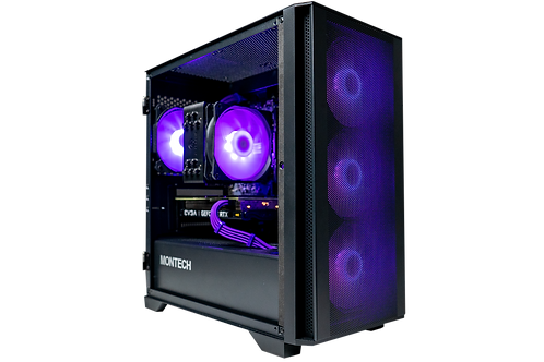 High End Air 100 Gaming PC (Ryzen 5 3600X + RTX 3060)