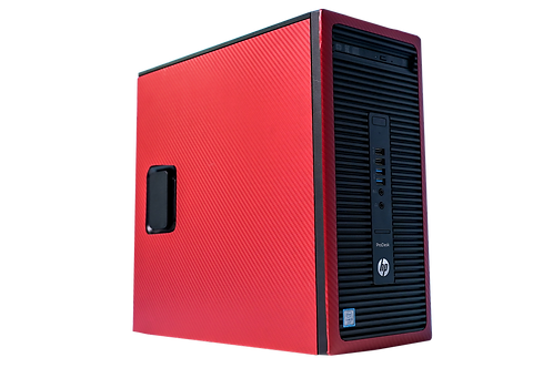 Budget HP Red/Black Gaming PC (Intel Core i5 6500 + GTX 1050 Ti)