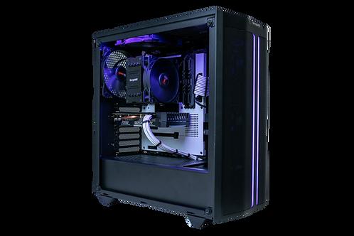 Mid Range Black/Purple Gaming PC (Ryzen 5 3600+GTX 1660 Super)