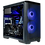 Thumbnail: High End Black/Blue ITX Gaming PC (i5 11400 + RTX 2070 Super)