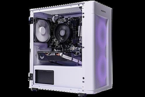 Mid Range White/Purple Gaming PC (Ryzen 3 3200G + GTX 1650 Super)