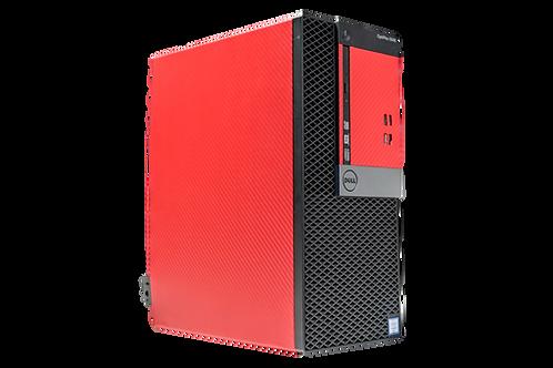 Budget Dell Red/Black Gaming PC (Intel Core i5 6500 + GTX 1050 2GB)