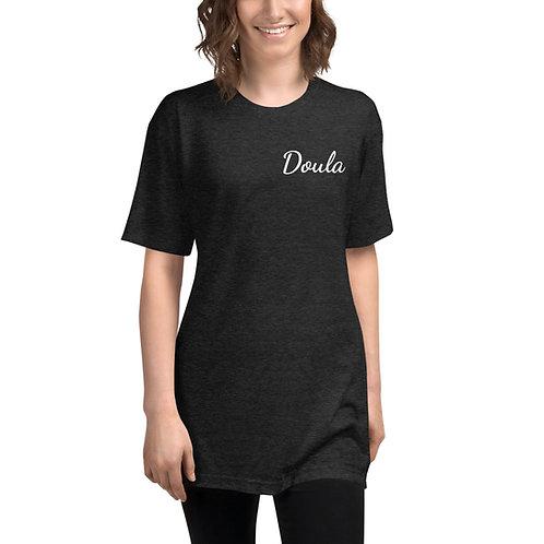 Doula Unisex Tri-Blend Track Shirt