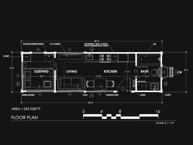 Mobile House Floor Plan