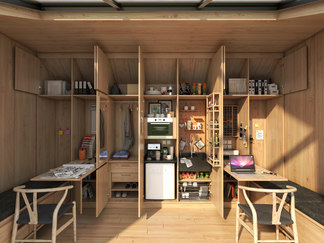 TINY ECO OFFICE, LATVIA