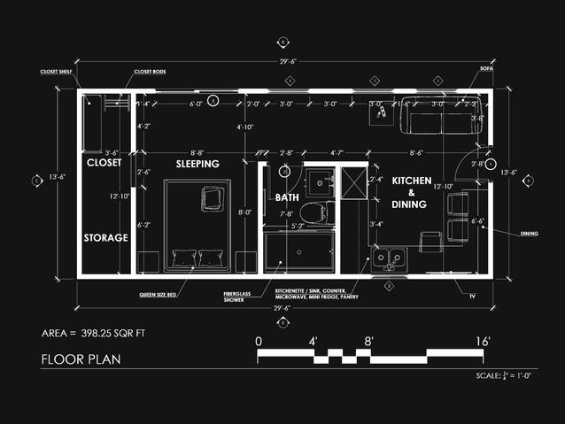 Mobile house plan