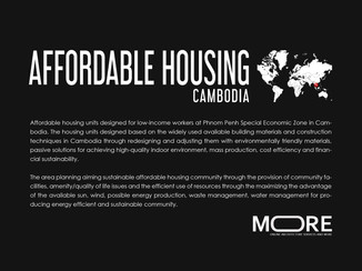 AFFORDABLE HOUSING CAMBODIA