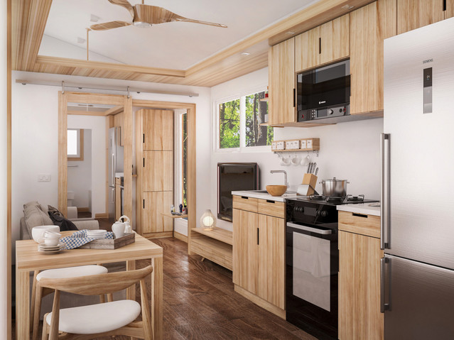 Mobile House Interior Design
