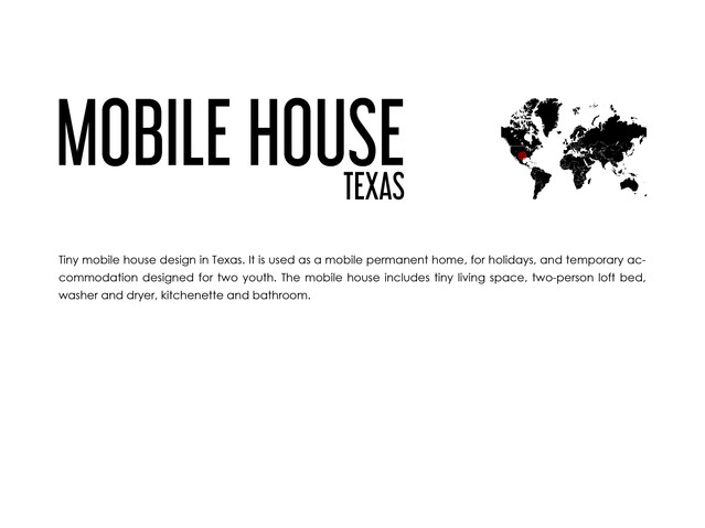 TINY MOBILE HOUSE TEXAS