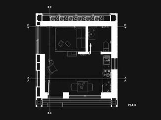 Small Eco House Plan